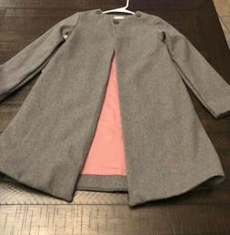 100% WOOL PEACOAT GIRLS SIZE 12  🎀 A. BIRD KIDS LUX CLOTH