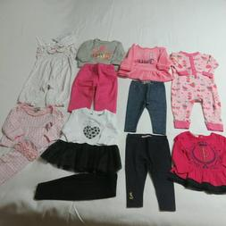 13 Piece Clothing Lot - Girls Baby Juicy Couture, etc Groupi