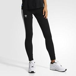 adidas Originals Women's 3-Stripes Leggings, Black/Trefoil S