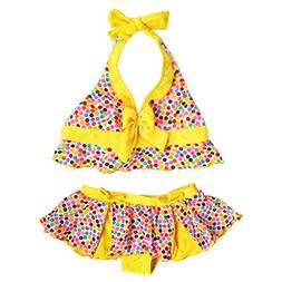 BAOHULU Girls' Swimsuit 3-10 Years UPF 50+ UV Protective Swi