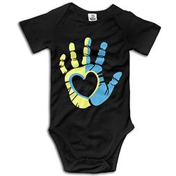 Baby Kids 100% Cotton Short Sleeve Onesies Toddler Bodysuit