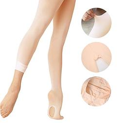 Ballet Tights Ultra Soft Transition Convertible Dance Tights