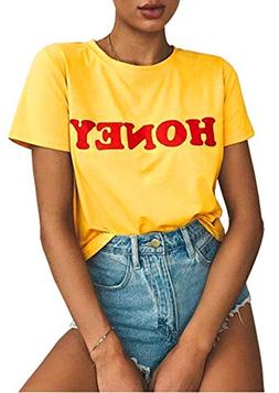 Blackmyth Women Graphic Funny T Shirt Cute Tops Teen Girl Te