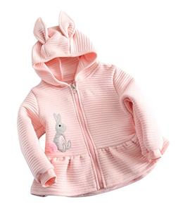 BomDeals Kids Baby Girls Autumn Winter Lovely Rabbit Ear Hoo