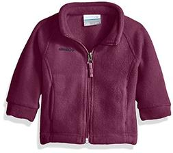 Columbia Baby Girls' Benton Springs Fleece Jacket, Dark Rasp