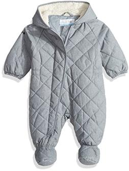 Columbia Baby Girls' Meet Cute Bunting, Trade Winds Grey Hea