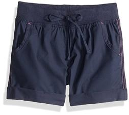 Columbia Big Girls' 5 Oaks Ii Pull-on Short, Nocturnal, Medi