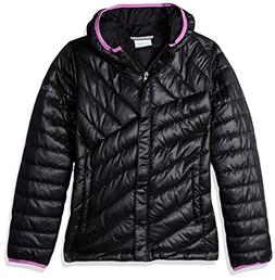 Columbia Big Girls' Powder Lite Puffer Jacket, Black/Crown J