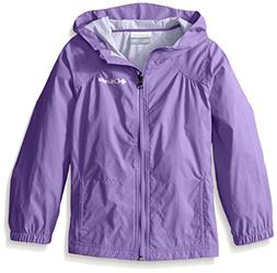 Columbia Girls' Toddler Switchback Rain Jacket, Grape Gum, 2