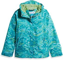 Columbia Little Kids Boy's Fast and Curious Rain Jacket, Gey