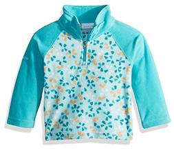 Columbia Toddler Girls' Glacial Ii Printed Fleece Half Zip J