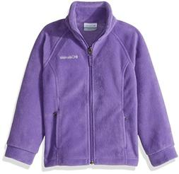 Columbia Toddler Girls'' Steens MT II Fleece, Grape Gum, 2T