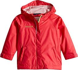 Columbia Toddler Kids Fast and Curious Rain Jacket, Punch Pi