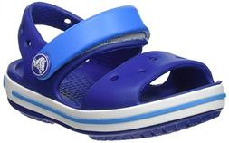 Crocs Crocband Fun Lab Light-up Clog, Blue, C8 M US Toddler