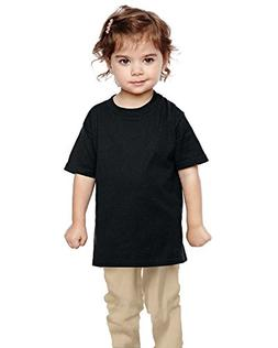 Gildan Toddler Heavy Cotton 5.3 oz. T-Shirt G510P -BLACK 5T