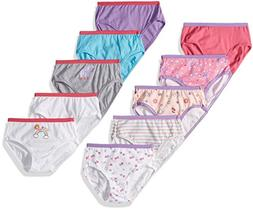 Hanes Big Girls' Multipack, Assorted 10 Pack, 12