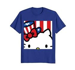 Hello Kitty Americana Close Up Tee Shirt