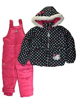 Hello Kitty Little Girls 2pc Printed Snowsuit