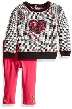 Juicy Couture Baby Girls' Sweater Tunic with Solid Legging S
