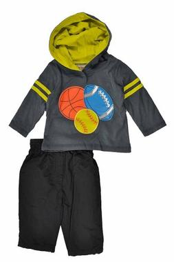 Kids Headquarters Baby-Boys Newborn Two Piece Hooded Top Wit