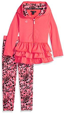 Limited Too Little Girls' 2 Piece Performance Set , Neon Cor