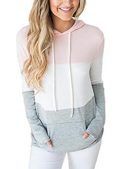 Lovezesent Women's Casual Loose Pullover Hoodies for Legging