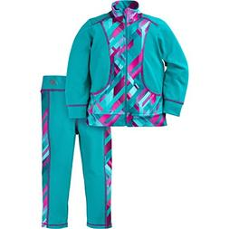 New Balance Baby Girls Athletic Jacket and Pant Set, Pisces/
