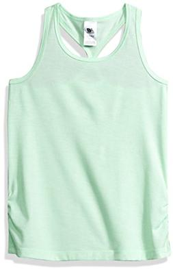 New Balance Kids Big Girls' Athletic Tank Top, Green Flash,