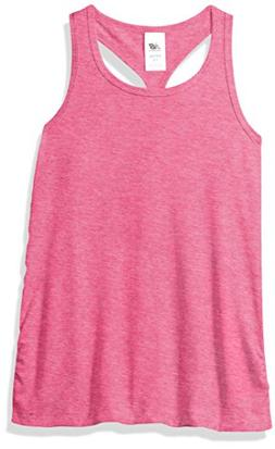 New Balance Kids Little Girls' Athletic Tank Top, Pink Glow
