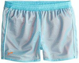 PUMA Big Girls' Active Double Mesh Short, Faster Blue, 12-14