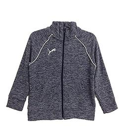 PUMA Girls' Full Zip Fleece Jacket )