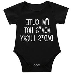 SWNONE Infant Baby Boys Girls Clothing Shirts Rompers Jumpsu