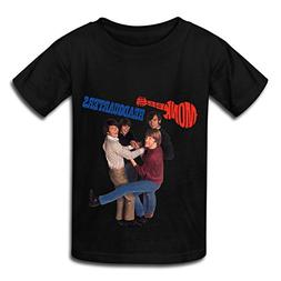 TECC Monkees Headquarters Big Boys Girls Fashion T Shirt Bla