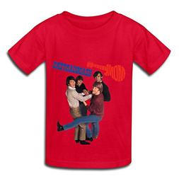 TECC Monkees Headquarters Big Boys Girls Fashion T Shirt Red