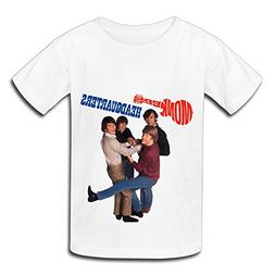 TECC Monkees Headquarters Big Boys Girls Fashion T Shirt Whi
