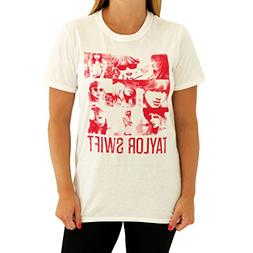 Taylor Swift White Squares Tee T-Shirt Youth Sizes