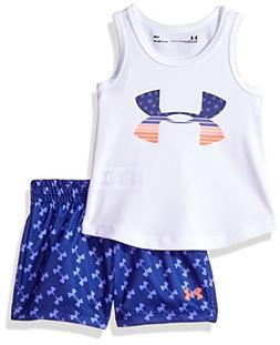 d5400739cf3d4 Under Armour Baby Girls UA Tank and Shor...