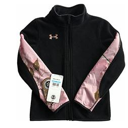 Under Armour Girls Camo Realtree Treehouse Full Zip Fleece J