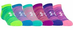 Under Armour Girls Essential No Show Socks