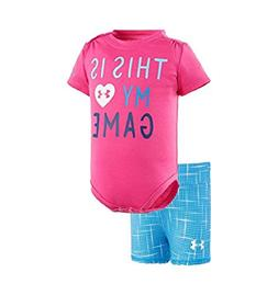 Under Armour UA This Is My Game – Newborn 6/9M REBEL PINK