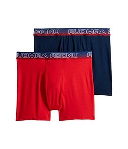 Under Armour Kids Boy's 2-Pack American Boxer Set  Academy X