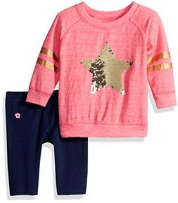 Limited Too Baby Girls 2 Piece Grindle French Terry Top and
