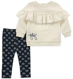 Juicy Couture Baby Girls 2 Pieces Tunic Legging Set, Silent