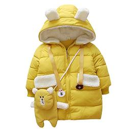 WAYNE FINKELSTEIN Baby Girls Infant Winter Coats Padded Over