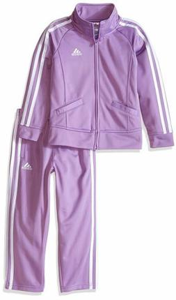 Adidas adidas Baby Girls Tricot Zip Jacket and Pant Set- Pic