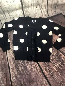 Baby Gap Polka Dot Sweater Sz 3 Girls Clothing New