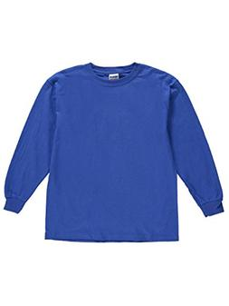 Gildan Unisex Basic L/S T-Shirt - Royal, s/6-8