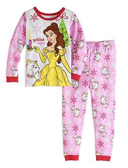 Disney Girls' Beauty And The Beast Belle Holiday Magic 2 PC