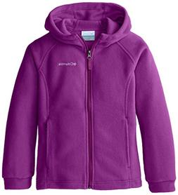 Columbia Big Girls' Benton II Hoodie, Bright Plum, Medium