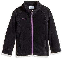 Columbia Big Girls' Benton Springs Fleece Jacket, Black, Cro
